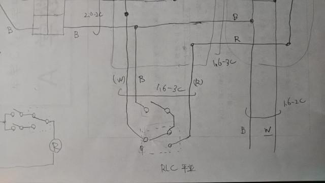 埋込器具の複線図
